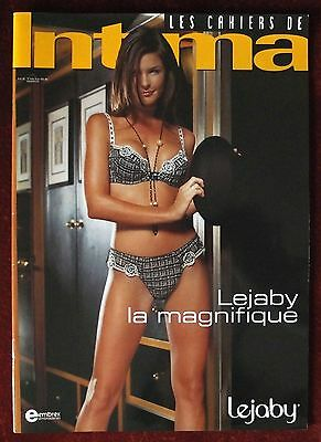 Intima ~ French Lingerie Catalog ~ Special Issue Lejaby 75 Years