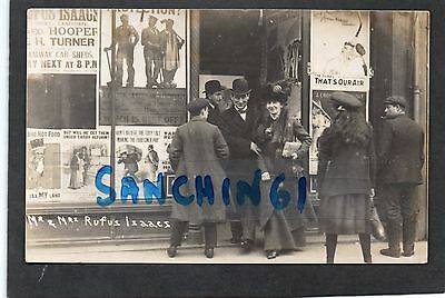 Rufus Isaacs, Reading, Political Reform Posters, Suffragettes ? Posted 1910 Rare