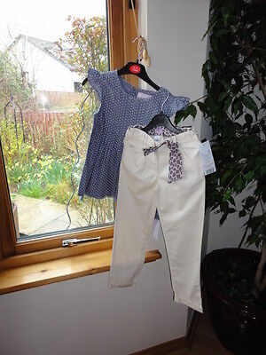 Gorgeous Trousers from F&F and Top from Young Dimension New with tags,Size 5-6 y