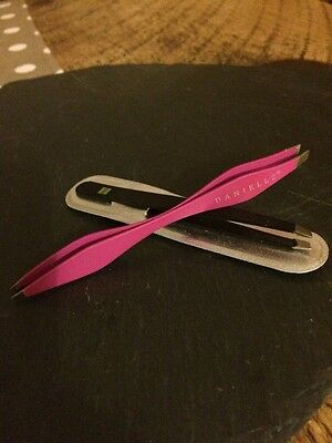 Brand New Danielle Double Ended Eyebrow Tweezers Plus Free Travel Set!!!