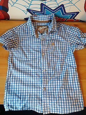 Short Sleeved Checked shirt 18-24 Months 1.5-2 Years Baby Boys