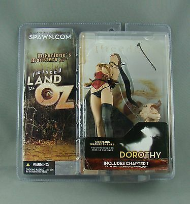 New McFarlane's Monsters Series Two Twisted Land of Oz Dorothy - Mature Themes