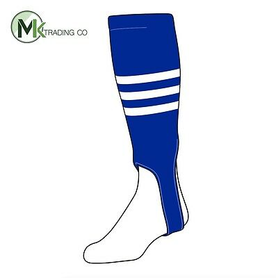 "TCK® Small/Youth, 100B, 5"" - Royal Blue–White - MLB® Baseball Stirrups"