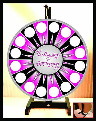 "Prize Wheel 18"" Spinning Tabletop Portable Thirty-one 31"