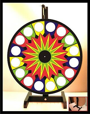 "Prize Wheel 18"" Spinning Tabletop Portable Carnival"