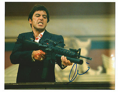 "Al Pacino ""scarface""  Hand-Signed Photo"