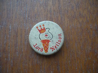 Lord Neilson ice cream company Vintage Pin Badge