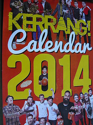 Kerrang 2 014 Calendar (Bullet For My Valentine/avenged Sevenfold/don Broco)
