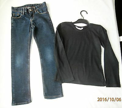 h&m & miss evie girls outfit age 6-7years