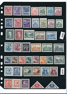 Mint stamp set #2053 / Bohemia & Moravia during the Nazi occupation / MNH stamps