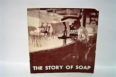Vintage 1931 THE STORY OF SOAP Proctor & Gamble IVORY SOAP CHIPSO GRANUALES
