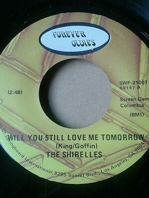 the shirelles  will you still love me tomorrow