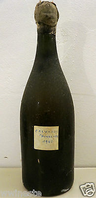 alcool CALVADOS 1942 horsher ancienne bouteille magnum 150cl chorsher