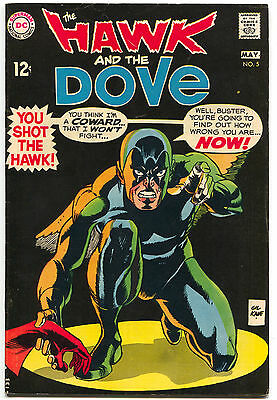 The Hawk And The Dove 5 1st Series DC 1969 FN