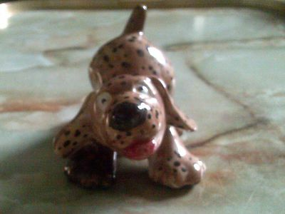Art Pottery Stylised Dog Named Emily Figurine/ornament
