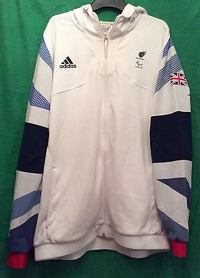 Official Adidas London 2012 Team GB Hooded Tracksuit Jacket XXL