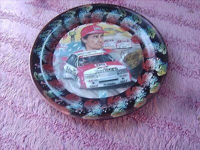 Peter Brock Vn Commadore      On A Decoupage  Plate