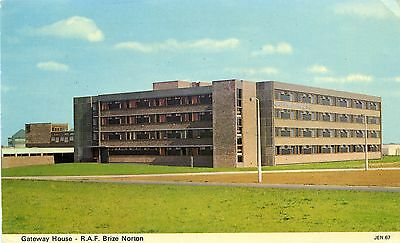 Raf Brize Norton - Gateway House - Postcard View