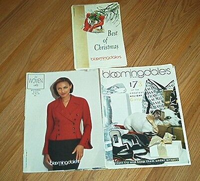3 Bloomingdales By Mail Catalogs 1998