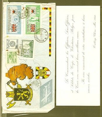 KOREA Sc 138,139,182 and others on COVER FVF