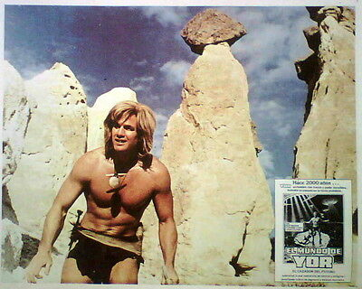 YOR, HUNTER FROM THE FUTURE Reb Brown lobby card 1982