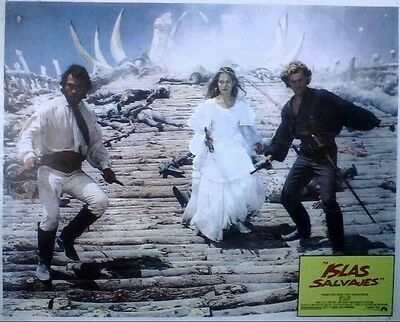 PIRATE Tommy Lee Jones NATE AND HAYES lobby card, 83