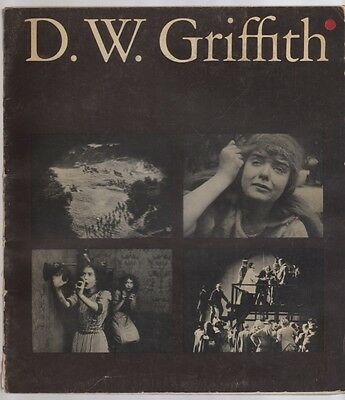 D. W. Griffith Museum Of Modern Art Catalog of Films 1965 Illustrated