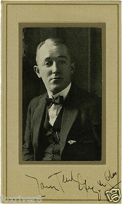 GEORGE M COHAN Signed Photograph - Composer & Playwright - Preprint
