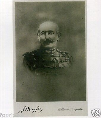 ALFRED DREYFUS Signed Photograph - French Army Officer