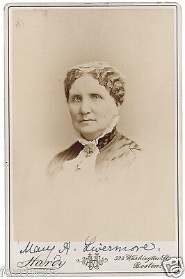 MARY LIVERMORE Signed Photo - Suffragette Historical Women's Rights - Preprint