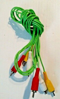 Fisher Price Smart Cycle Replacement Cord Plug Play Plugs into TV 3 Cord version