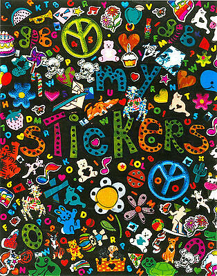 My Stickers - reusable sticker album - made in USA