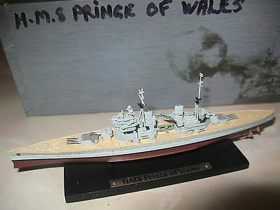 DeAgostini Atlas Editions Collections - HMS Prince Of Wales Boxed