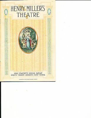 """Theatre Program Spencer Tracy """"The Baby Cyclone"""" 1927 NYC"""