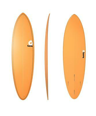 Surfboard TORQ Epoxy TET 6.8 Funboard Orange Surfeur Planche De Surf