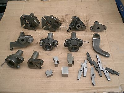 "Mixed Lot of screw machine tooling and 1"" tool holders"
