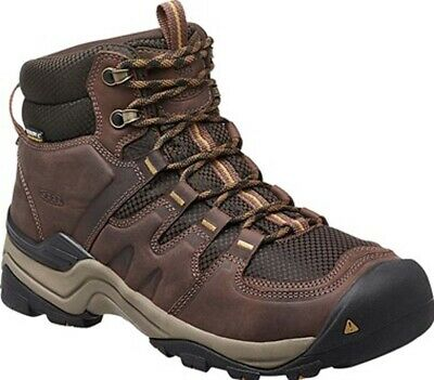 Keen Gypsum II Mens Mid Waterproof Hiking Boots - Coffee Bean Bronze Mist