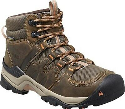 Keen Gypsum II Womens Mid Waterproof Hiking Boots - Cornstock Gold Coral