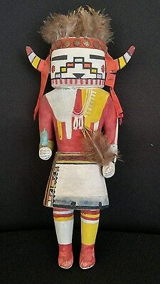 Old Antique Hopi Rainbow Dancer Kachina