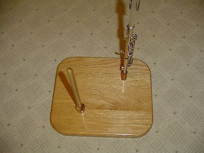 Hardwood Flute Stand Made By Tj Woodworm