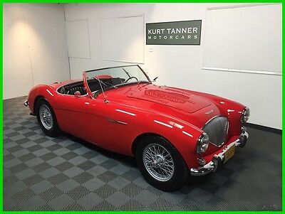 1955 Austin Healey BN1  1955 AUSTIN HEALEY 100-4 BN-1. MODIFIED WITH A 1963 CHEVROLET CORVETTE 327/340+