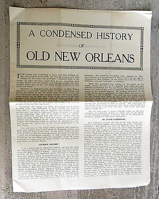 A Condensed History of Old New Orleans Home of Brer Rabbit Molasses Pamphlet