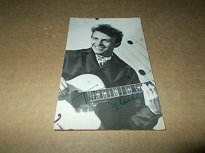 Postcard Tommy Steele No 315 Printed Signature 371407808379