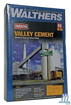Walthers Cornerstone Ho Kit Valley Cement Wal9333098