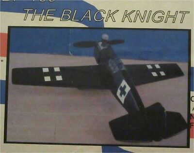 """Bf-109 """"the Black Knight"""" 1/2A Control Line Model Kit"""