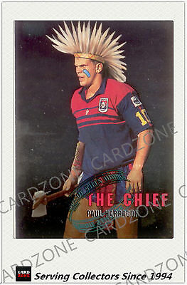 1995 Dynamic Rugby League Winfield Cup Out Of This World Card W3:Paul Harragon