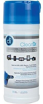 Allsop Clean Dr Wet/Dry Streak Free Cleaning Wipes - Accessories
