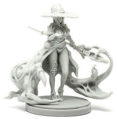 █ 30mm Resin Kingdom Death Disciple of the Witch 2 Unpainted Unbuild WH057