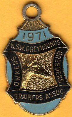 1971  owners  trainers  breeders  asst  badge