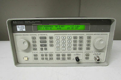 Agilent HP 8648D Synthesized Signal Generator, 9 kHz to 4000 MHz, with 4 opt
